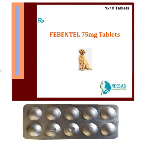 FEBENTEL 75mg Tablets