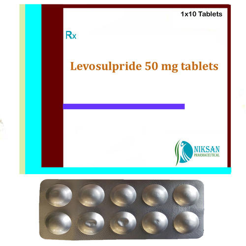 Levosulpride 50 mg tablets
