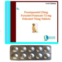 Praziquantel Pyrantel Pamoate And Febentel Tablet