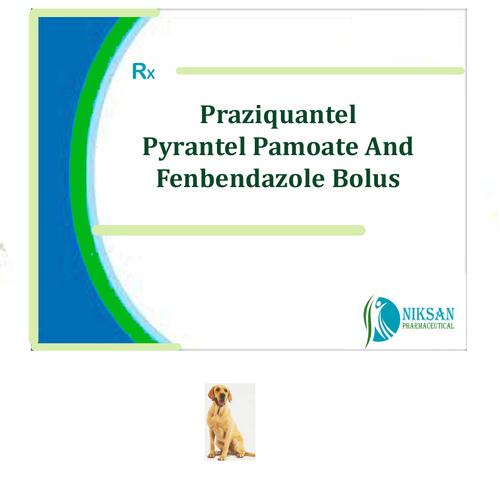 Praziquantel Pyrantel Pamoate And Fenbendazole Bolus
