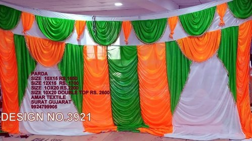 Decorative Tent Side Wall