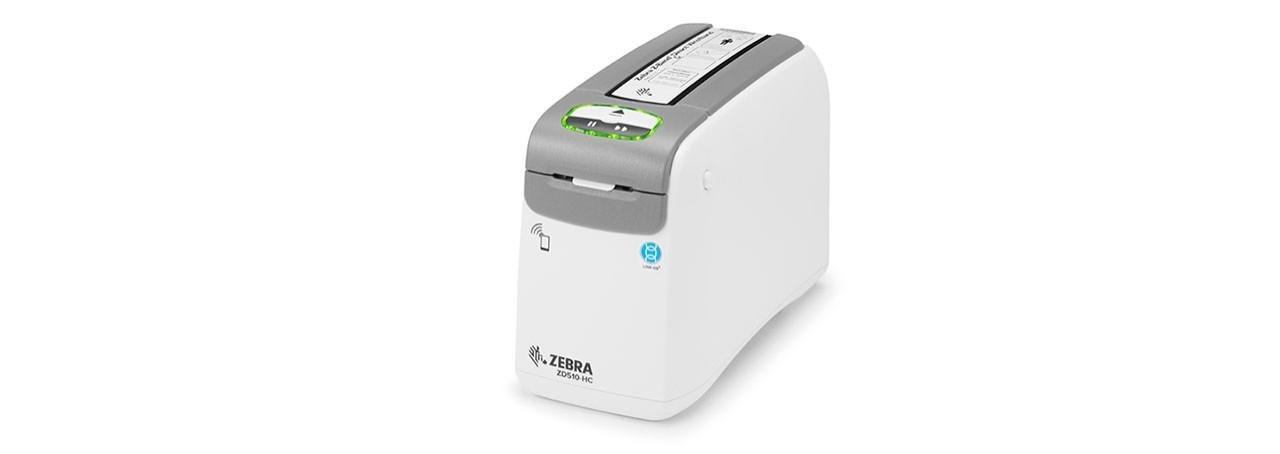 Barcode Printer Zebra ZD510-HC Wristband Printer. Barcode Printer.