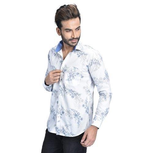 Floral Print Shirt For Men