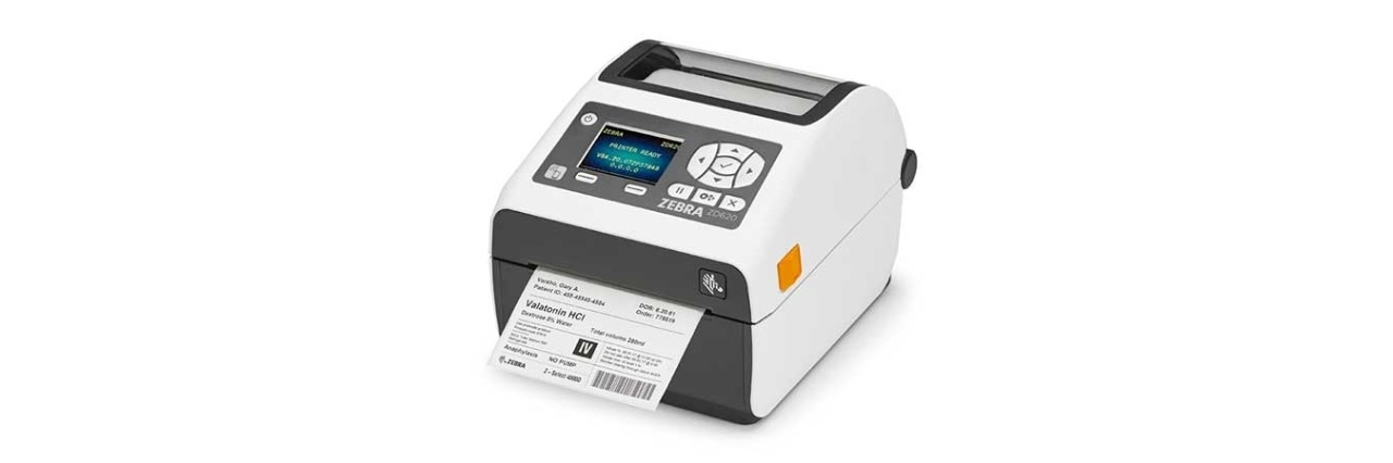 Barcode Printer Zebra ZD620 Healthcare. Barcode Printer