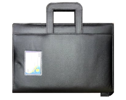 Durable & Premium Quality Executive File Folder With Adjustable Handle, B4 Size