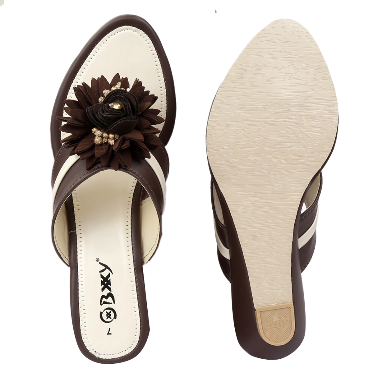 Leatherite Heels & Wedges for Women's and Girls