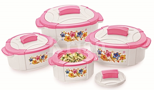 Coral Hot pot / Casserole 3 & 4 pcs set