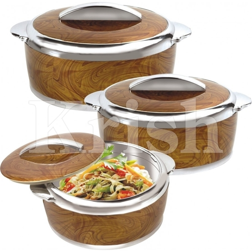 Hot Value Hot Pot / Casserole 3 & 4 Pcs Set