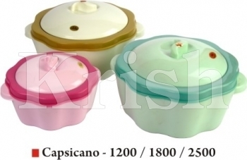 Capascino pot / Casserole 3 Pcs set