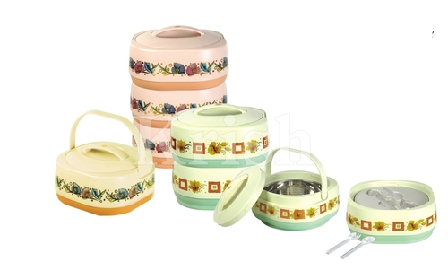 Square Tiffin Set - ORCHID
