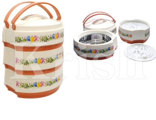Oval Tiffin Set - Hot & Cold