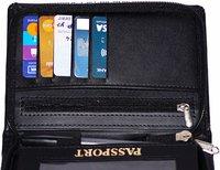 Leather Passport Holder Case