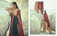 Tussar Silk With Embroidery Heavy Dress Material