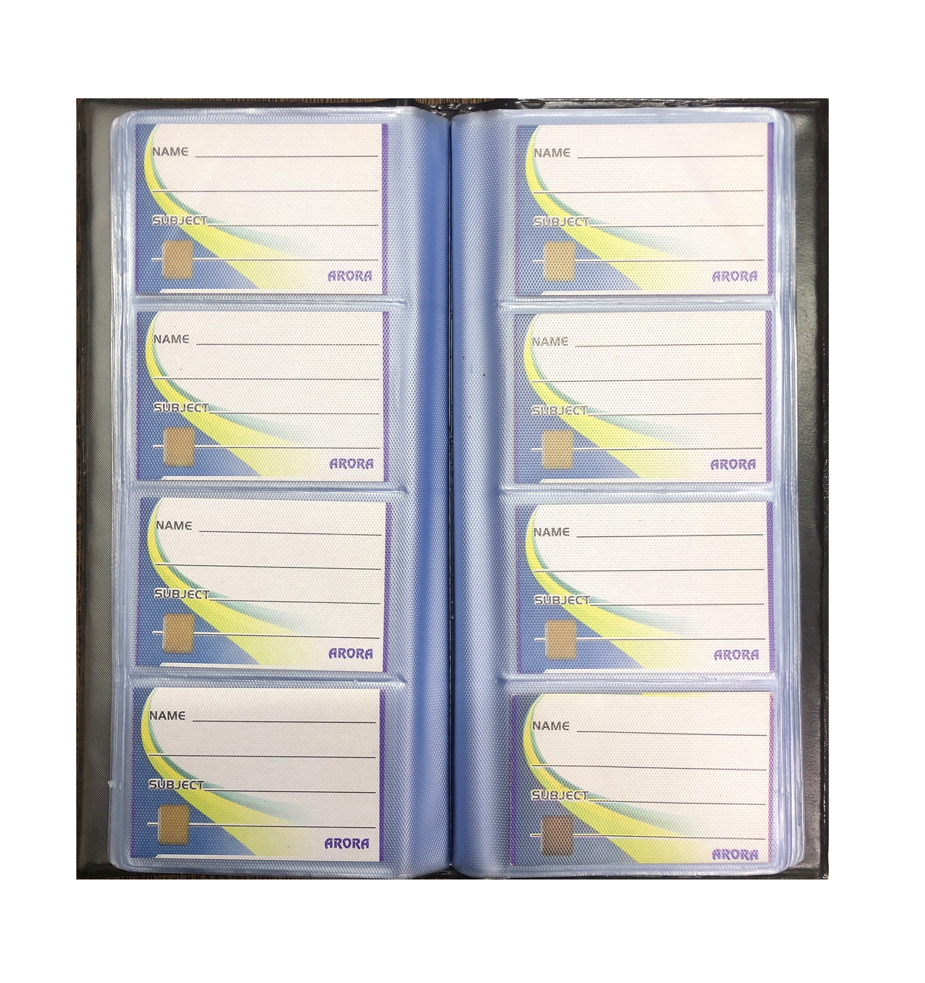Visiting Card Album, (4 Cards In a Row)