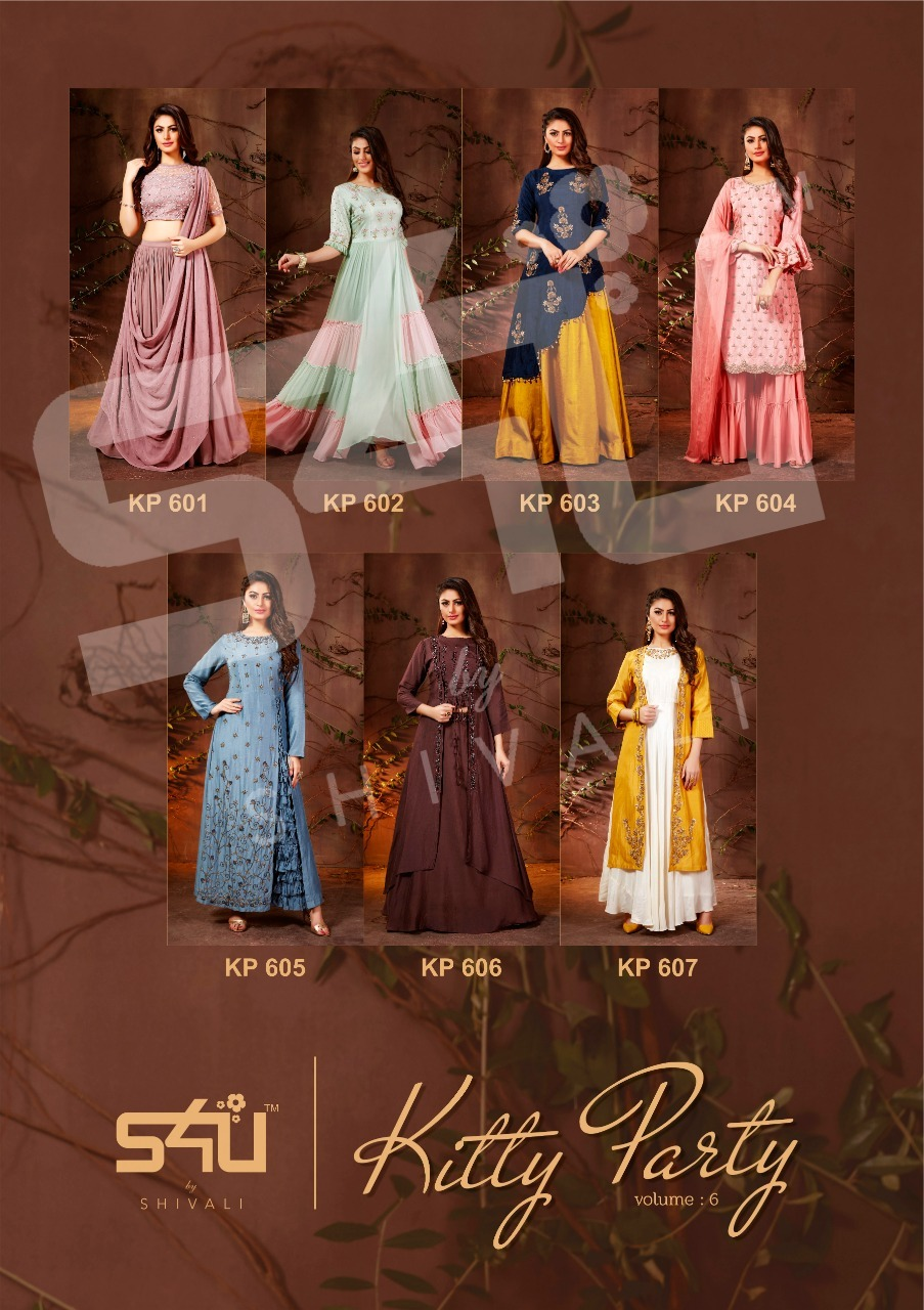 Fancy Designer Kurtis Heavy Georgette Silk Muslin Fabrics