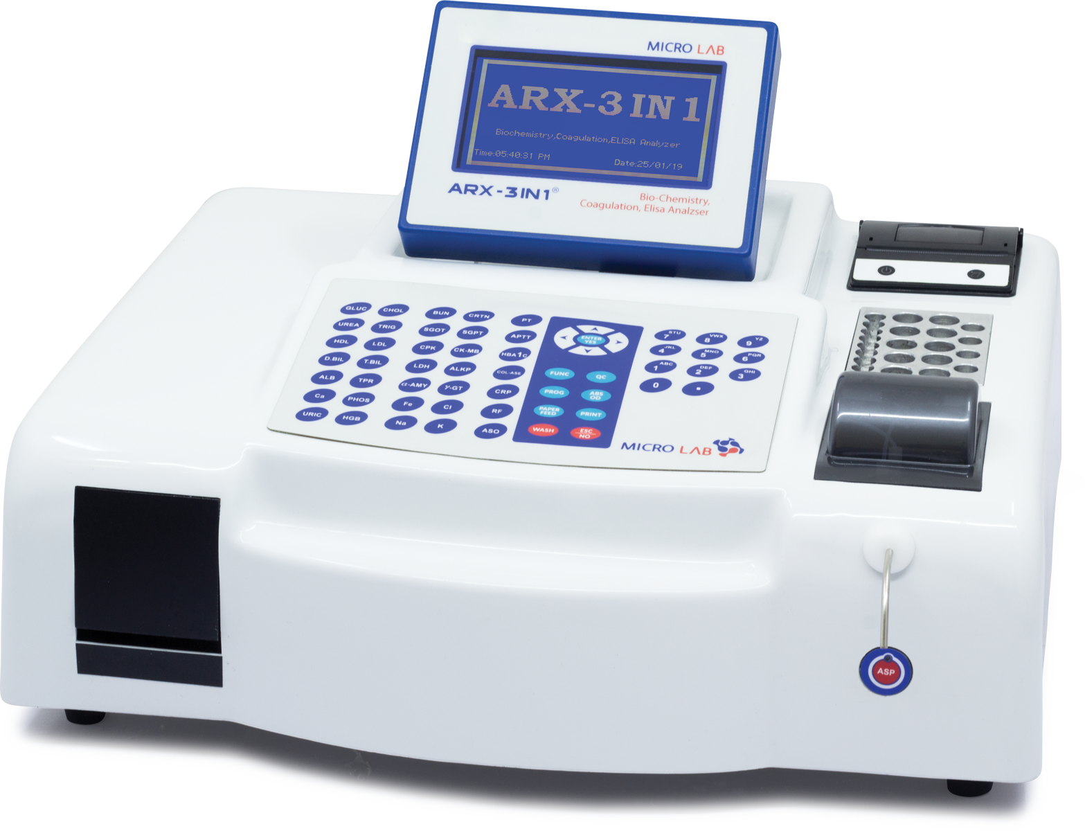 Semi Automated Biochemistry Analyzer