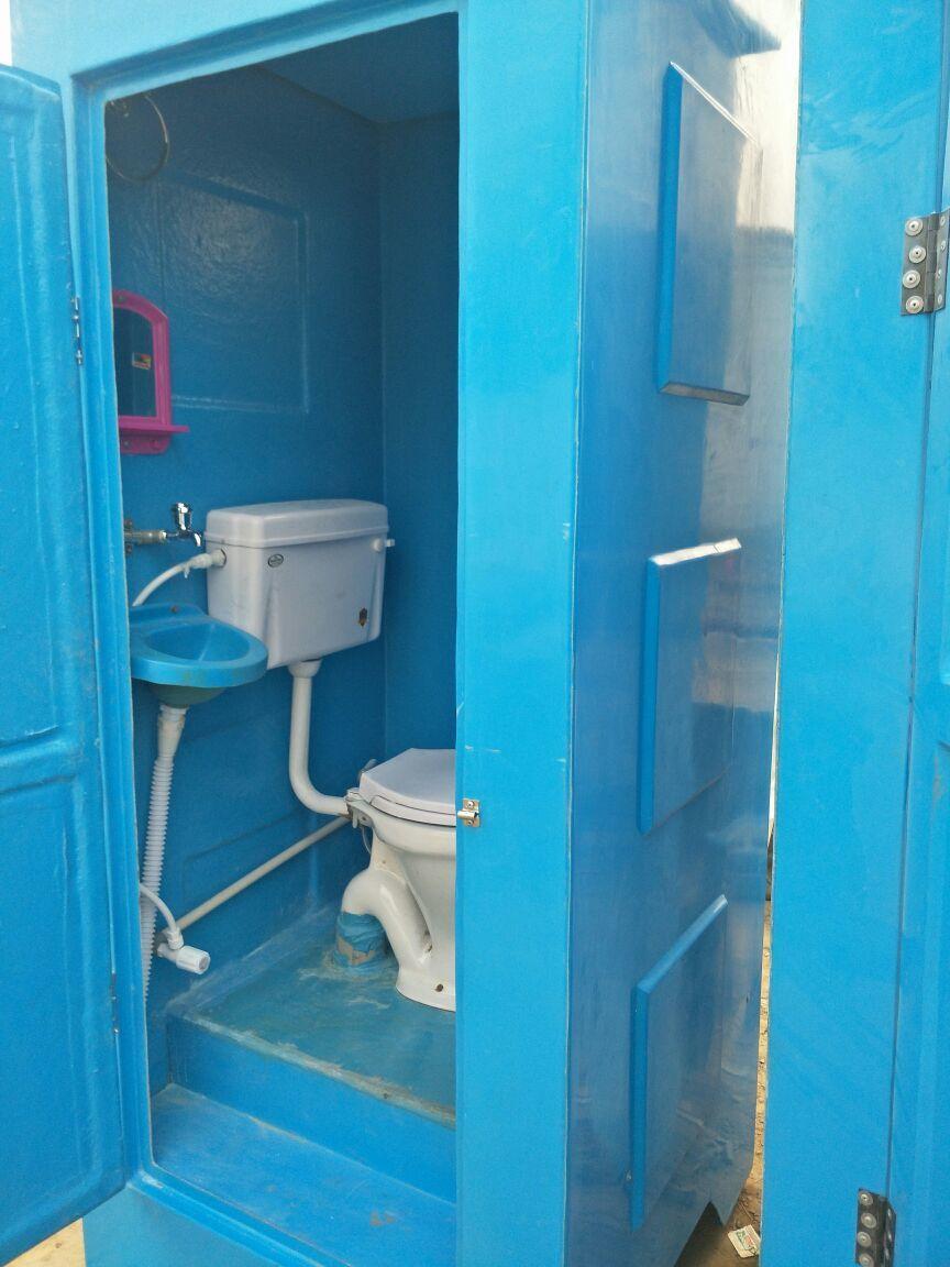 Single Seater Portable Toilet