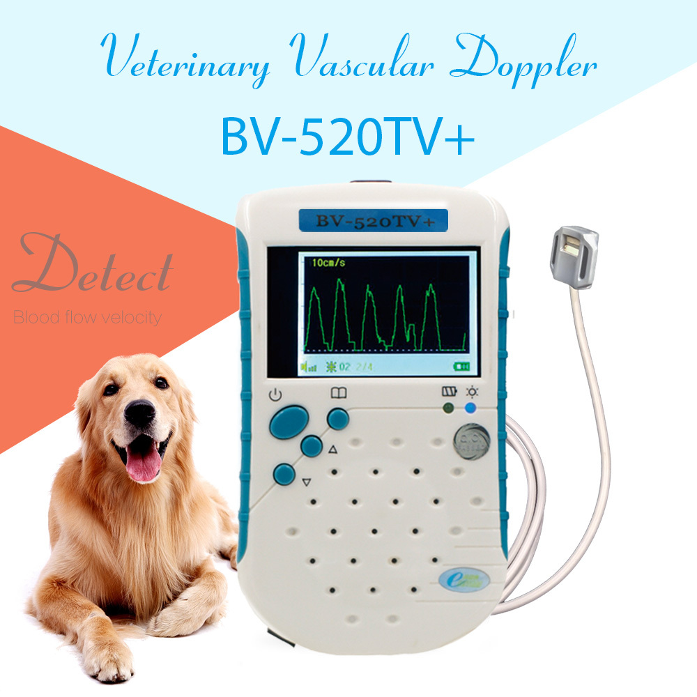 BV520TV+ Veterinary Vascular Doppler