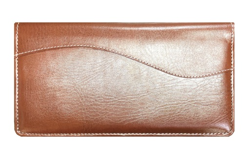 Brown Leatherite Cheque Book Holder