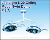 Led Light L 20 Celing Model Twin Dome