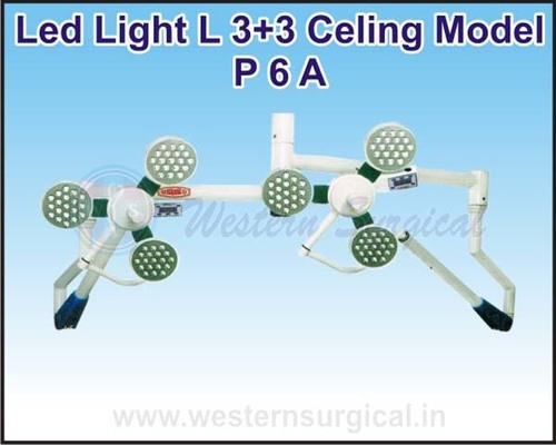 Led Light L 3+3 Celing Model