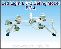 Led Light L 3+3 Celing Model