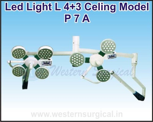 Led Light L 4+3 Celing Model