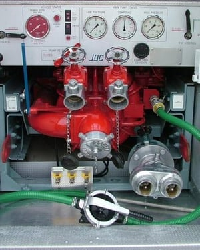 Fire Engine Panel Repair Service