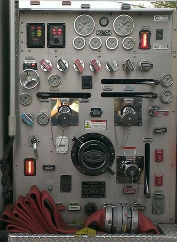 Fire Engine Panel
