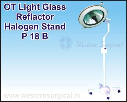 OT Light Glass Reflactor Halogen Stand