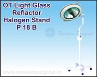 OT Light Glass Reflactor Halogen Stand