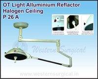 OT Light Alluminium Reflactor Halogen Stand 14