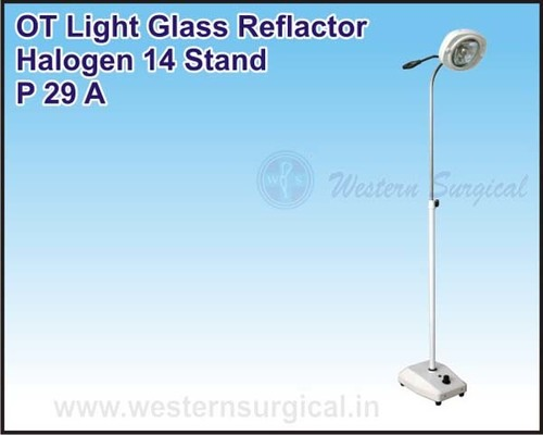 OT Light Glass Reflactor Halogen 14 Stand