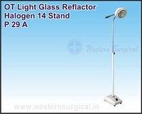 OT Light Glass Reflactor Halogen 14 Stand