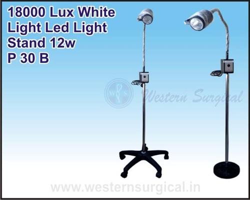 White Light Led Light Stand 12w