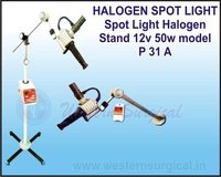 HALOGEN SPOT LIGHT Spot Light Halogen Stand
