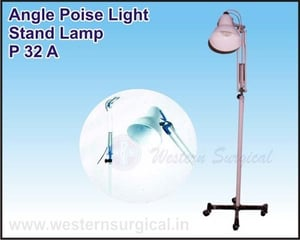 Angle Poise Light Stand Lamp