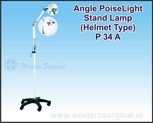 Angle PoiseLight Stand Lamp (Helmet Type)