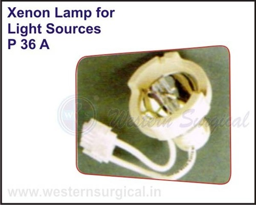 Xenon Lamp for Light Sources