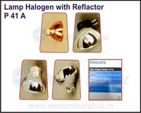Lamp Halogen with Reflacto