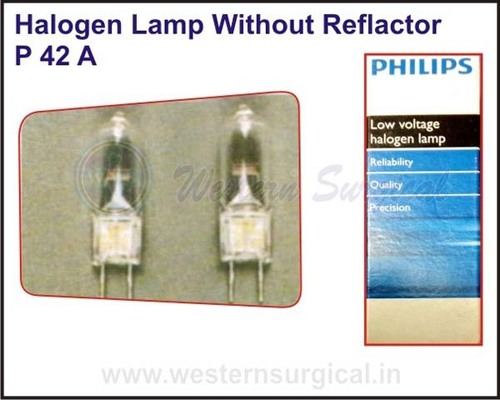 Halogen Lamp Without Reflactor