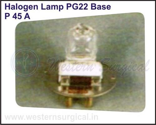 Halogen Lamp PG22 Base