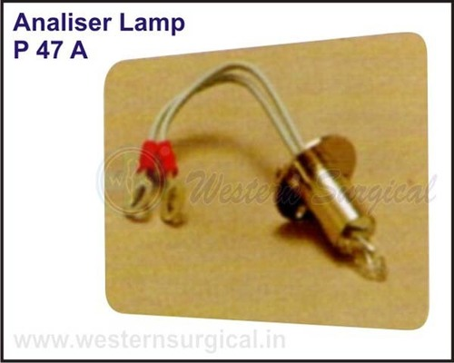 Analiser Lamp