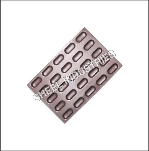 25 Mould Oval Shape Cake Tray