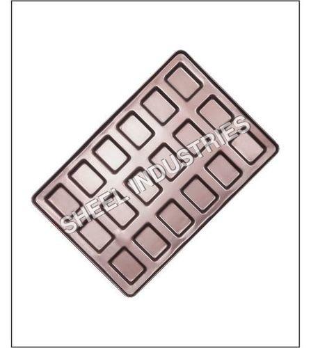 18 Molds Small Rectangle Bun Tray