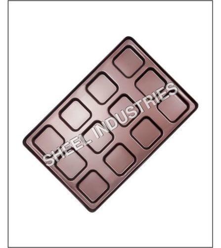 12 Molds Square Bun Tray