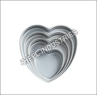 Heart Cake Pan Set