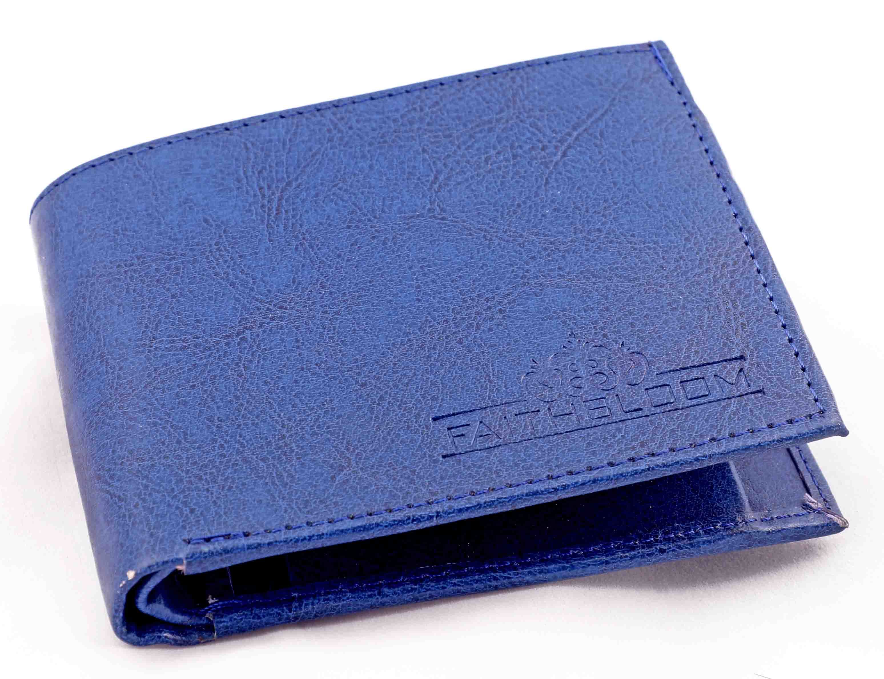 Gents blue wallet