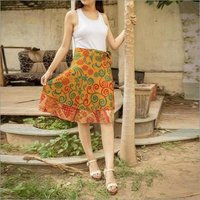 Ladies Vintage Silk Skirts