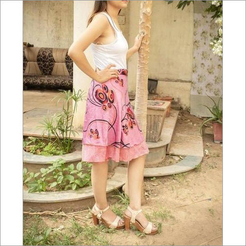 Women Silk Skirts